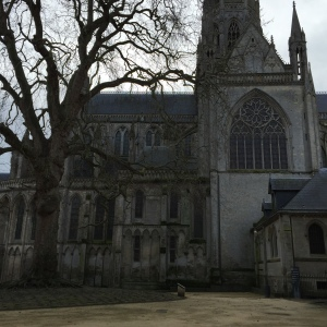 Cathedral in Bayeux, built in the 11th century