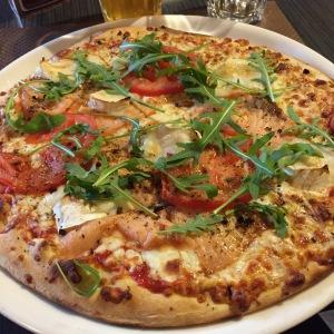 Mmm...pizza.
