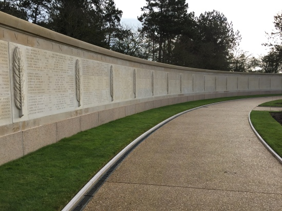 Wall of the Missing contains 1557 names.