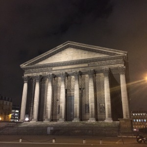 La Madeleine Eglise.  I thought it was a museum.  It's a church.